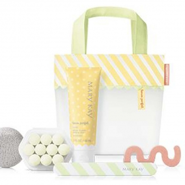 Mary Kay's Limited Edition Lemon Parfait Pedicure Collection (Photo: Mary Kay)