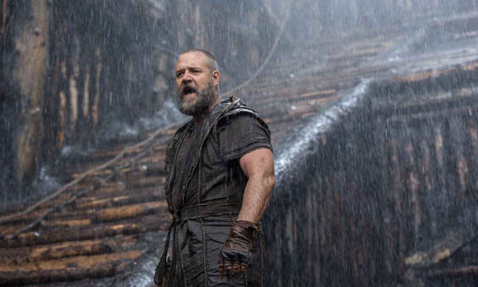 Russell Crowe as Noah. (Photo: Niko Tavernise/Paramount Pictures)
