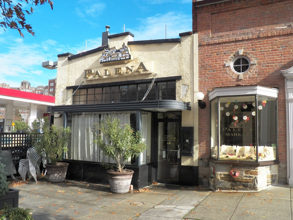 Palena in Cleveland Park closed in April. (Photo: DC Outlook)