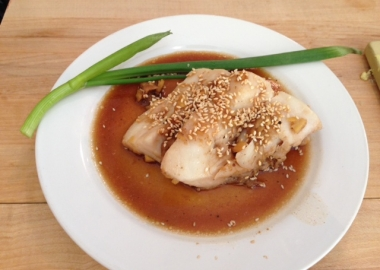 My steamed rockfish came out pretty well, if I do say so myself. (Photo: Richard Barry/ DC on Heels)