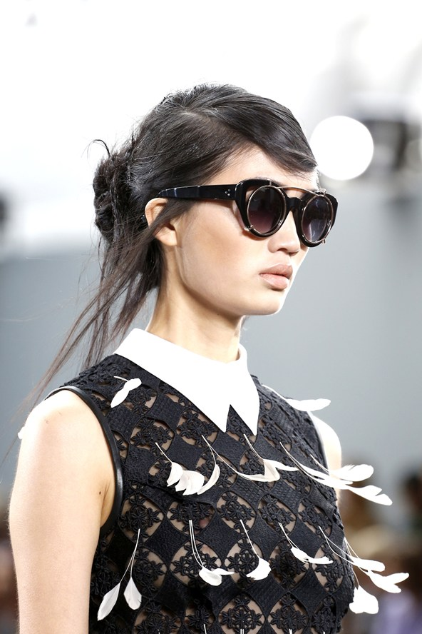 A messy, yet chic up-do (Photo: Indigital)