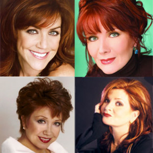 4 Girls 4 includes Andrea McArdle (clockwise from top left), Maureen McGovern,  Donna McKechnie and Faith Prince. (Photos: Strathmore)