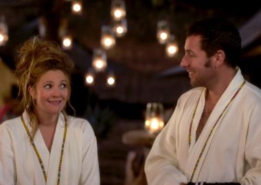 Drew Barrymore and Adam Sandler star in