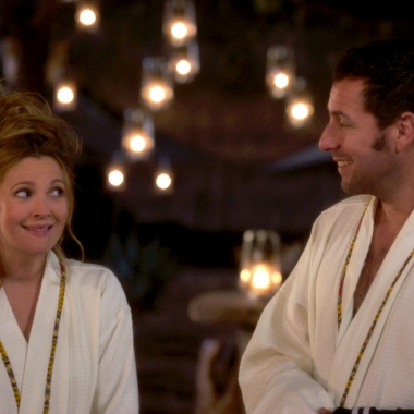 Drew Barrymore and Adam Sandler star in