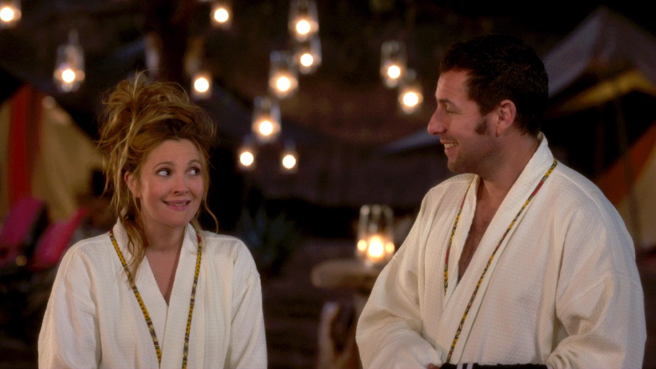 "Drew Barrymore and Adam Sandler star in ""Blended."" (Photo: Warner Bros. Pictures)"