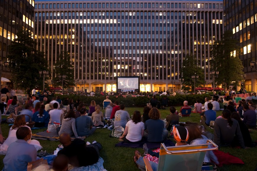 """Crystal Screen's theme for its Monday night series is """"In Flight."""" (Photo: Crystal City Business Improvement District)"""