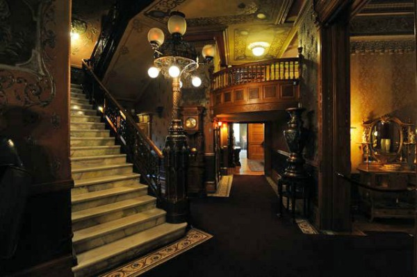 Inside the Heurich House you'll find hand carved woodwork, gas and electric light fixtures, gilt furniture, a marble and onyx staircase, and other ornate features. (Photo: Heurich House Museum)