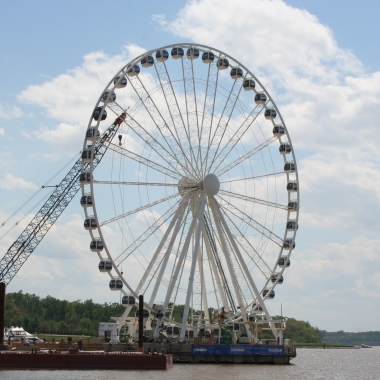 The Capital Wheel at National Harbor opens at 11 a.m. Friday, May 23. (Photo: Mark Heckathorn/DC on Heels)