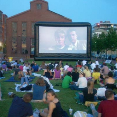 The Capitol Riverfront's Outdoor Movie Series brings films to Canal Park every Thursday (Photo: Capital Riverfront)