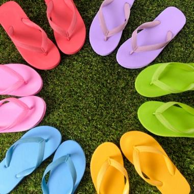 Flip-flops date back to 1500 B.C. (Photo: sheknows.com)