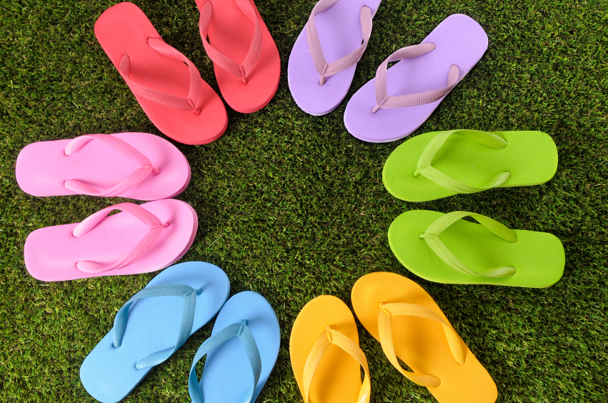 Flip-flops date back to 1500 B.C. (Photo: sheknows.com)