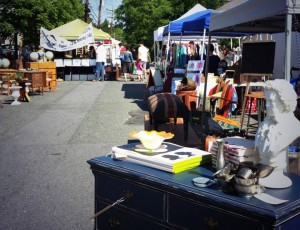 Shoppers at one of last year's Grant Avenue Market. (Photo: Grant Avenue Market)