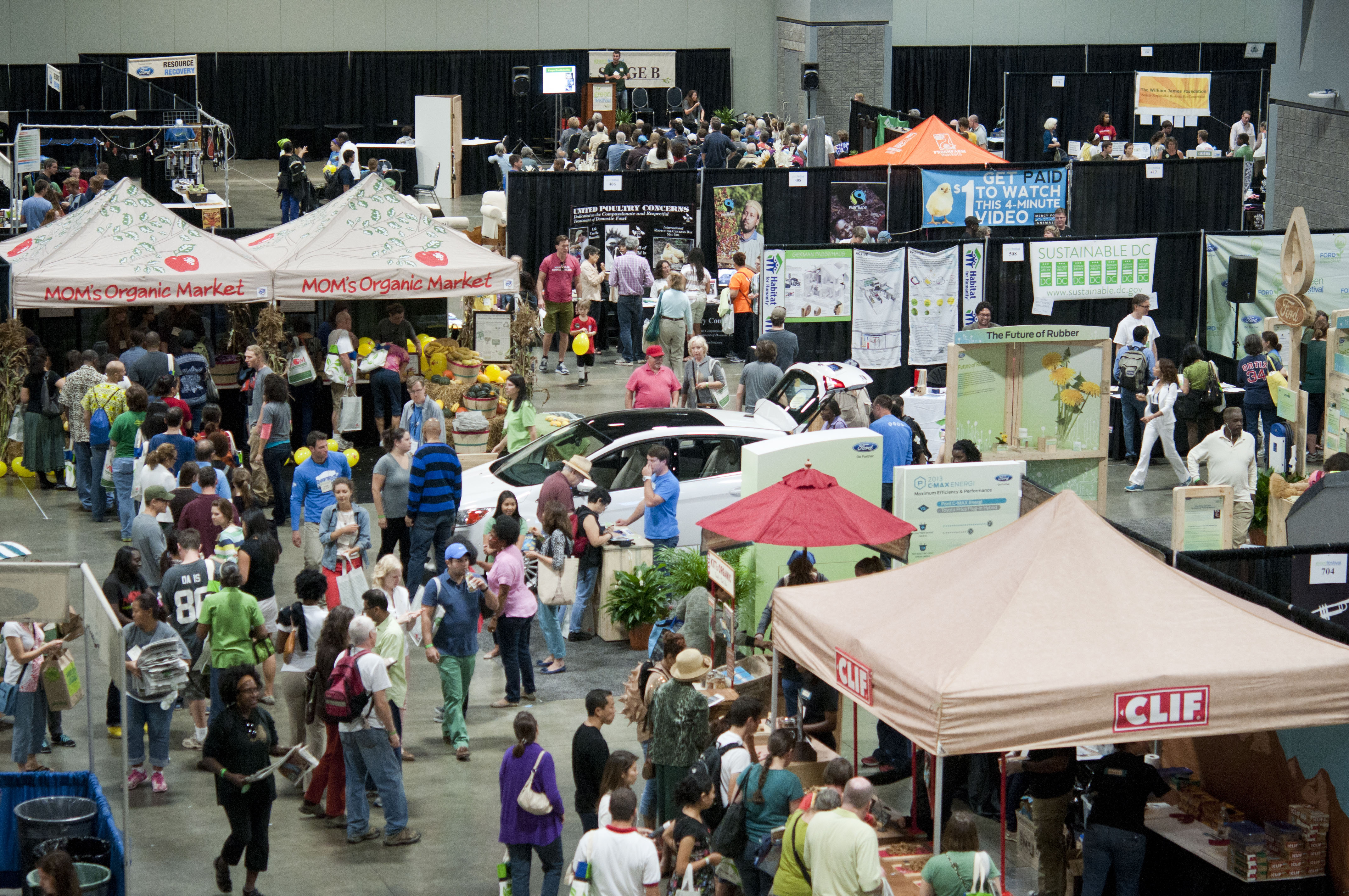 The Green Festival will be at the Washington Convention Center this weekend showcasing all things sustainable. (Photo: Balance Photography)