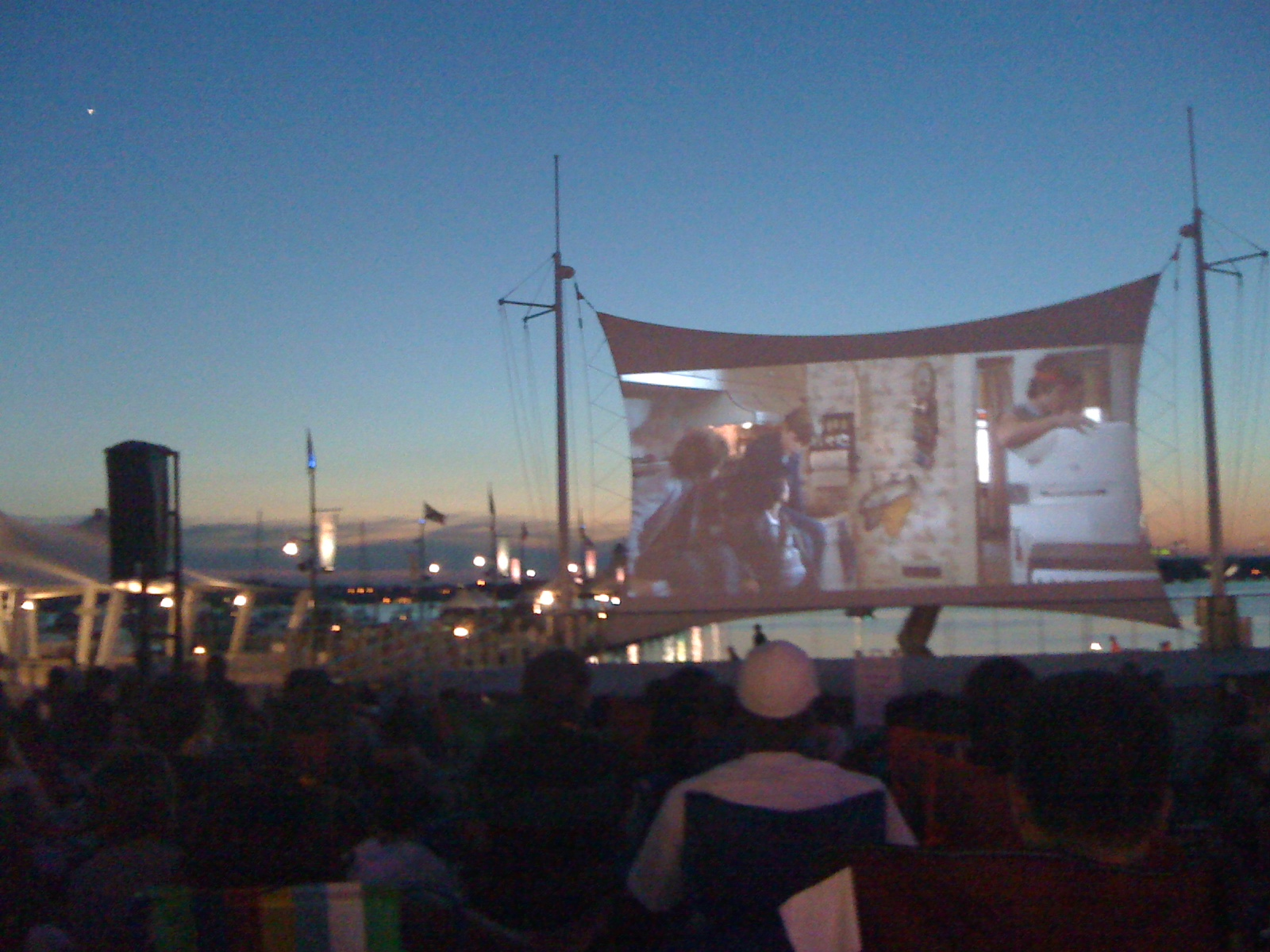 Movies on the Potomac will show free films on Sundays at National Harbor. (Photo: Campbell's Soup Blog)