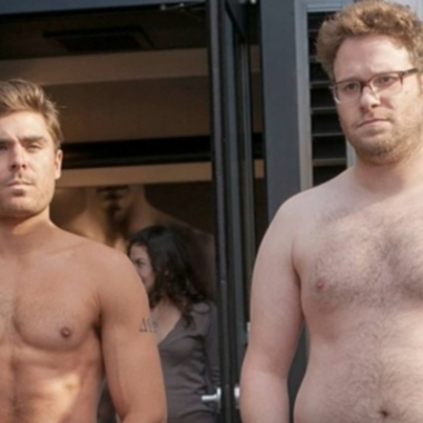 Zac Efron and Seth Rogen star in