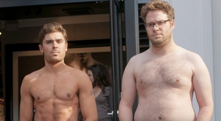 "Zac Efron and Seth Rogen star in ""Neighbors."" (Photo: Glen Miller/Universal Pictures)"