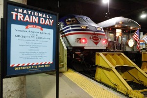 Equipment tours at the 2011 National Train Day at Union Station. (Photo: Amtrak)