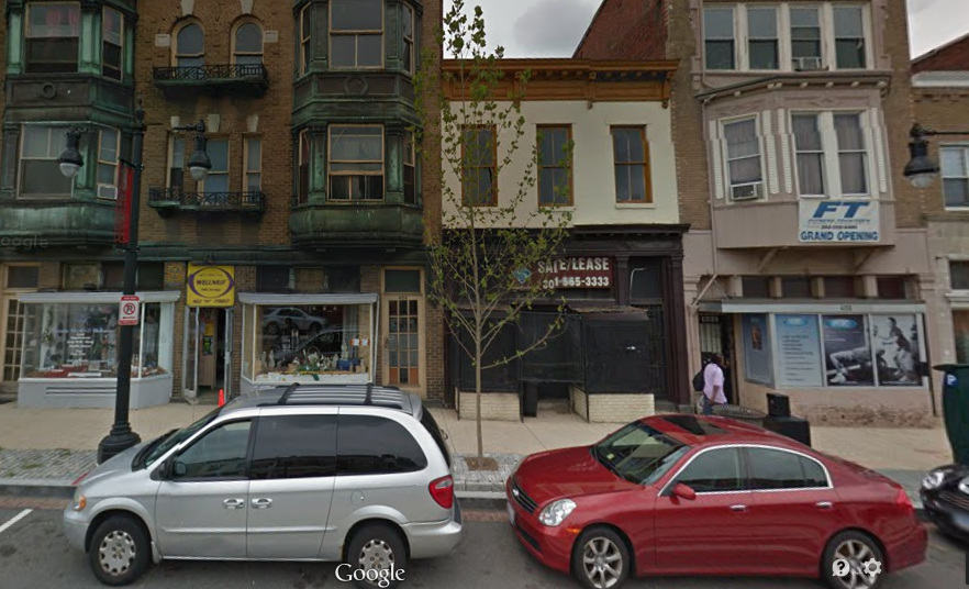 Sticky Fingers bakery will open a second location on H Street NE between Fitness Together and Khepra's Raw Food Juice Bar in early 2015. (Photo: Google)