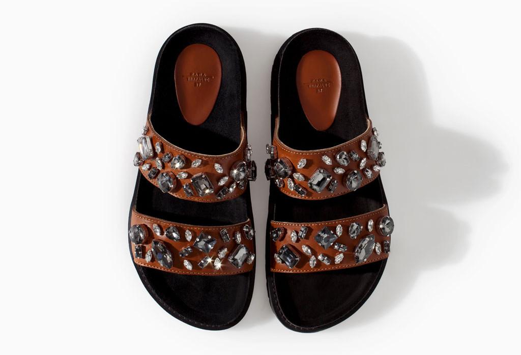Zara leather bio with jewels $99.90.