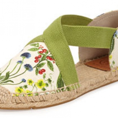 Tory Burch Catalina Strappy Printed Espadrille Flat, $125 (Photo: Cusp)