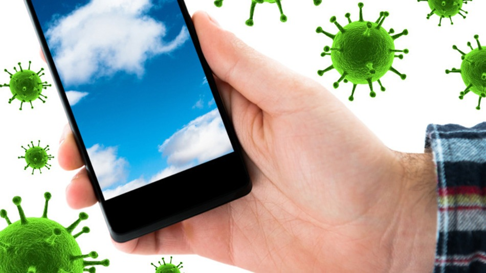Your cell phone is likely dirtier than your toilet seat. (Photo: iStock/Mashable)