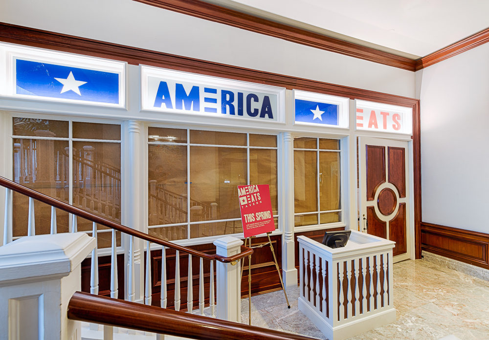 The new America Eats Tavern at the Ritz-Carlton Tysons Corner. (Photo: R. Lopez)
