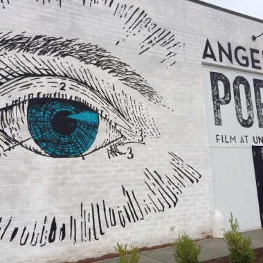 Angelika film center opened a pop-up movie theater in the Union Market District Friday that will show indie and arts films until its permanent space is ready in 2015. (Photo: Stephanie Merry/Washington Post)