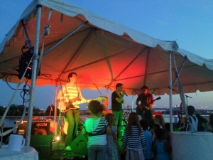 A band peforms at Rockin' on the River in 2013. (Photo: Capital Riverfront)