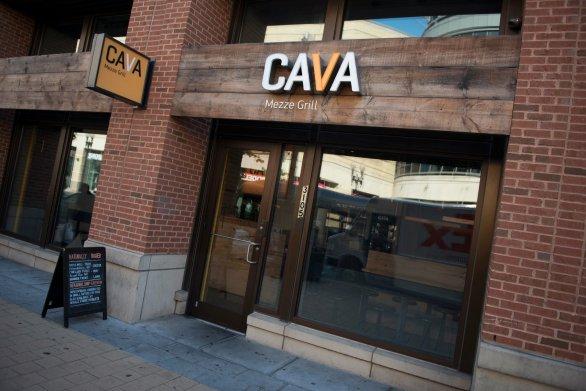 Cava Mezze Grill in Columbia Heights. (Photo: Zagat)