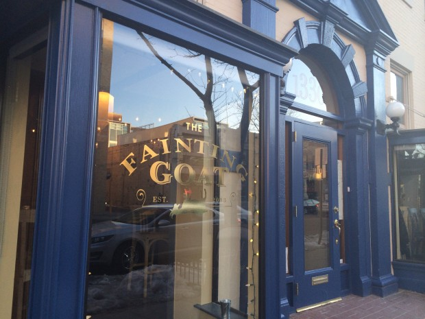 """The Fainting Goat on U Street will host a """"Meet the Artist"""" happy hour the third Thursday of every month. (Photo: Girl Meets Food)"""
