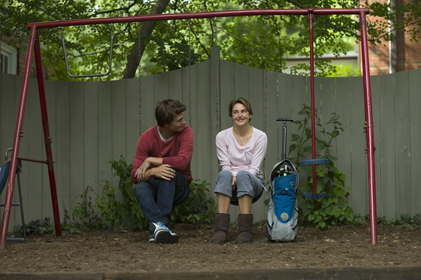 """Ansel Elgort and Shailene Woodley star in """"The Fault in Our Stars."""" (Photo: 20th Century Fox)"""