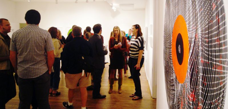 On the first Friday of each month, 11 Dupont galleries stay open late. (Photo: First Friday Dupont)