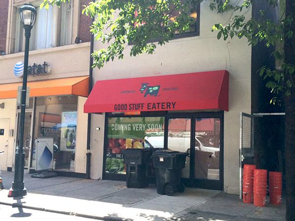 Good Stuff Eatery opens a new Philadelphia restaurant on Tuesday. (Photo: Michael Klein/Philly.com)