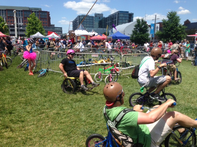 Crazy bikes, crazy times at New Belgium's Tour de Fat(Photo: Richard Barry/DC on Heels)