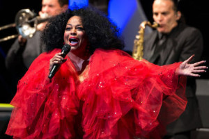 Diana Ross performing at Wolf Trap on Aug. 14, 2013. (Photo: Deb Kolt/Sun Gazette)