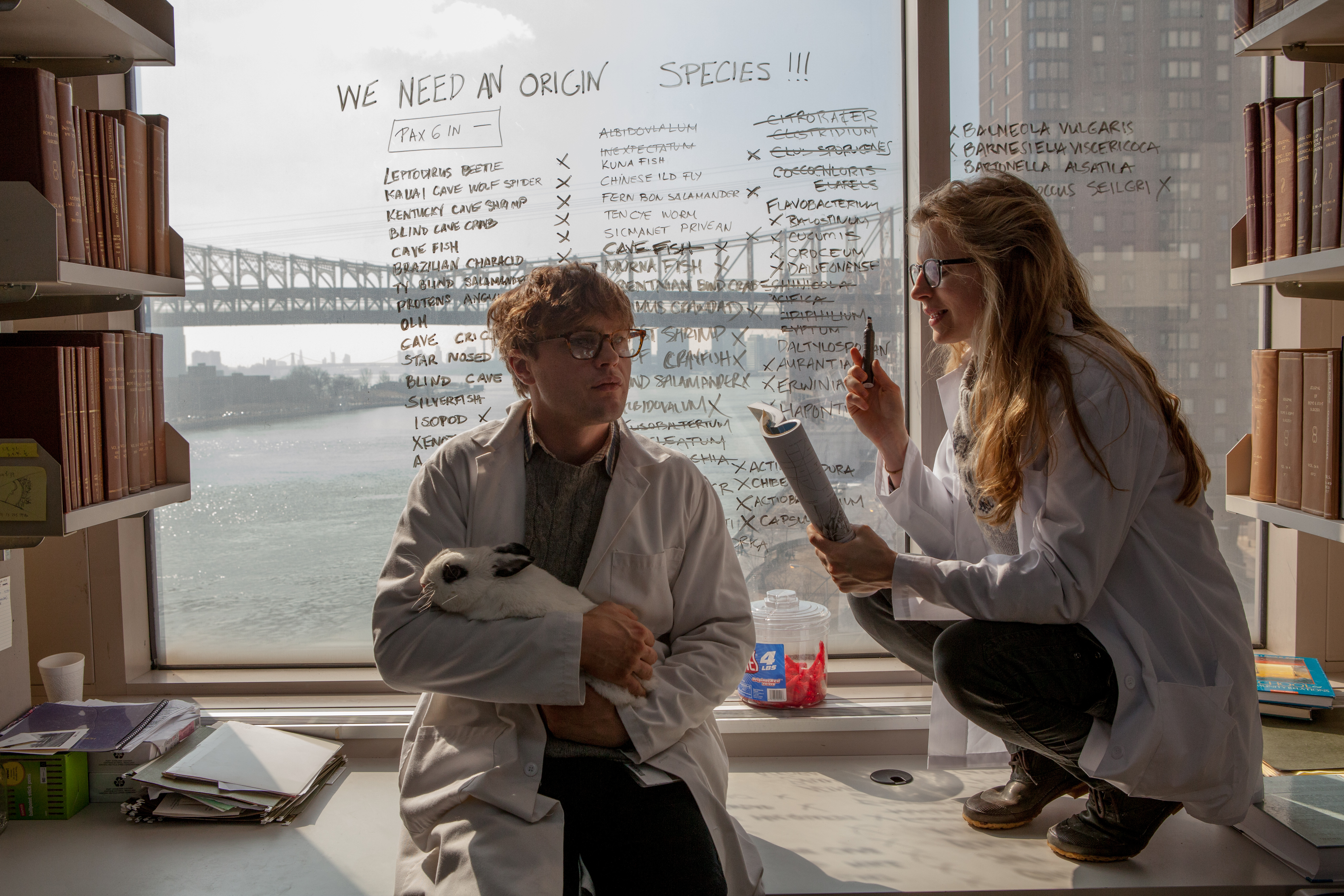 "Michael Pitt as Dr. Ian Grey and Brit Marling as Karen in ""I Origins.""(Photo: Fox Searchlight Pictures)"