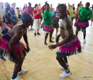 Kenyan dancers perform at the Folklife Festival. (Photo: spiegel.hans/flickr)