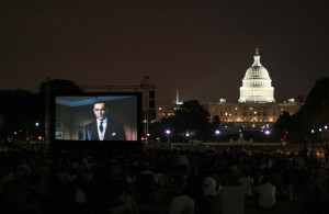 "Screen on the Green returns to the National Mall on Monday with ""The Karate Kid"" at sundown. (Photo: ThisIsBossi/Flickr)"