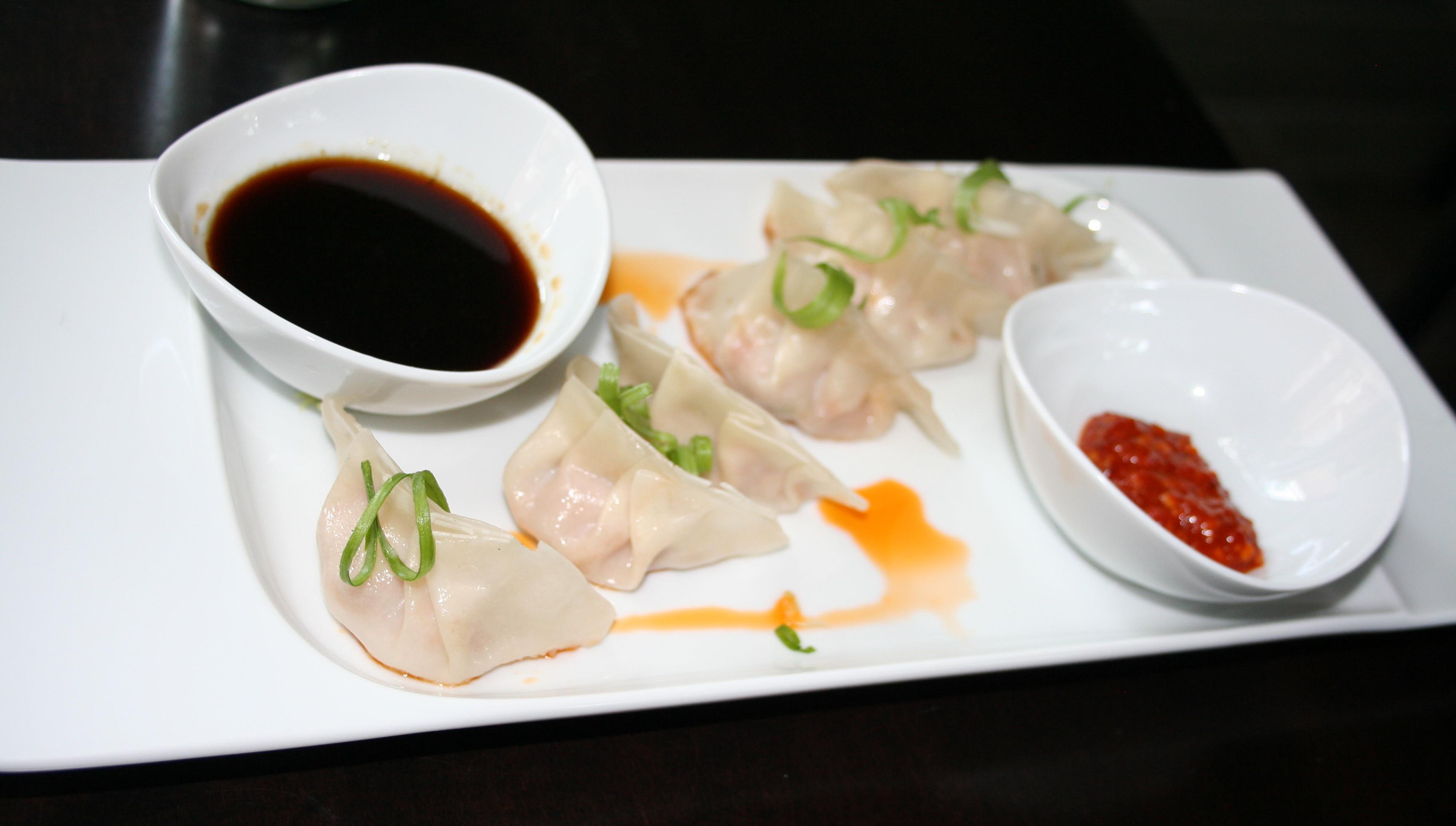 Shrimp and pork dumplings (Photo: Mark Heckathorn/DC on Heels)