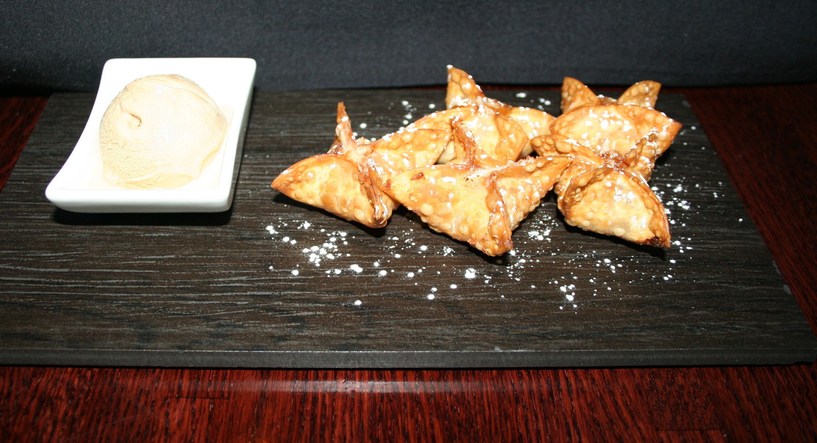 For dessert, the guava rangoons are the perfect ending. (Photo: Mark Heckathorn/DC on Heels)