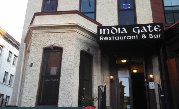India Gate Restaurant  and Bar opened Wednesday in Dupont. (Photo: Barred DC)