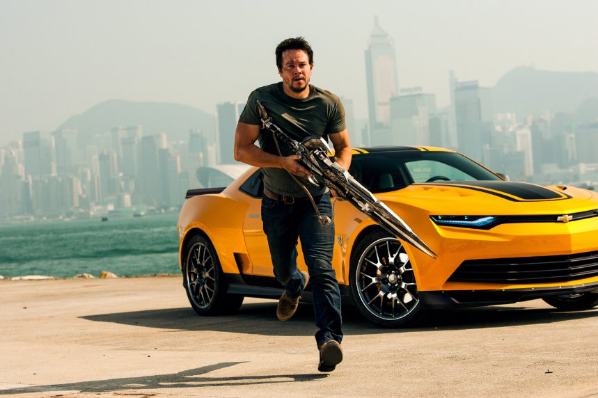 "Mark Wahlberg stars in ""Transformers: Age of Extinction."" (Photo: Andrew Cooper/Paramount Pictures)"