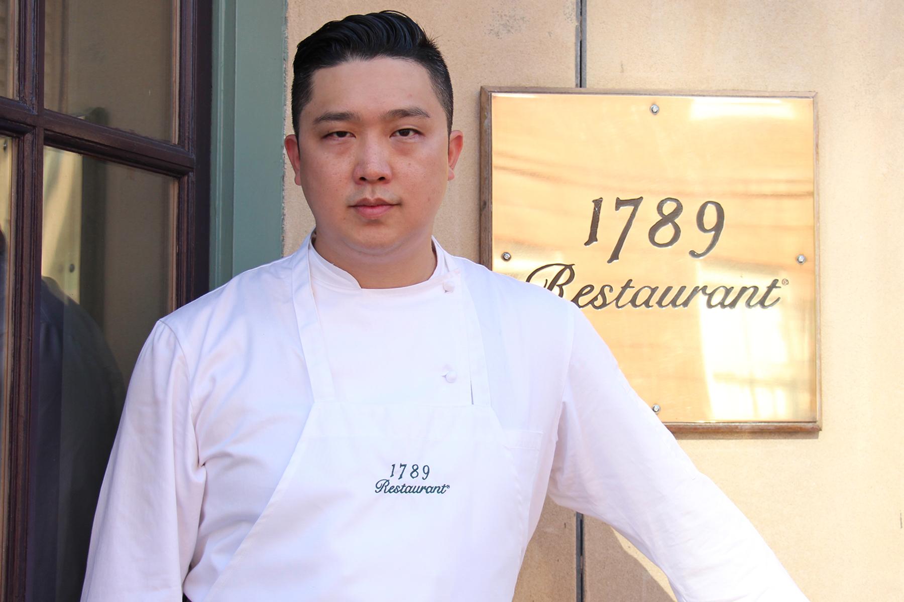 Samuel Kim is 1789 Restaurant's new executive chef. (Photo: 1789 Restaurant)
