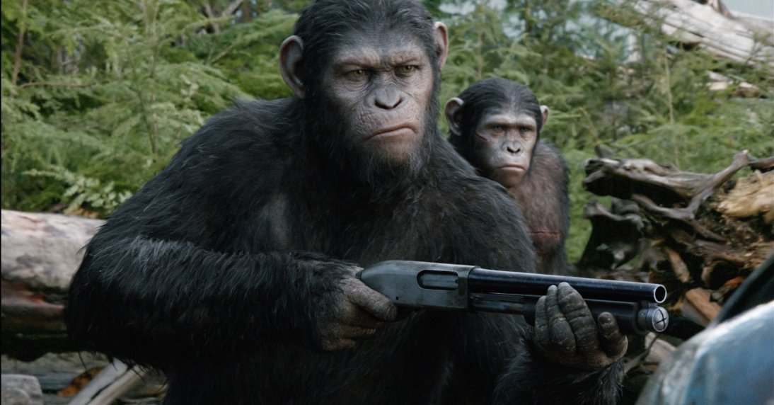 """Dawn of the Planet of the Apes"" debuted in first place last weekend. (Photo: 20th Century Fox)"
