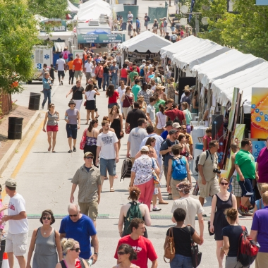 Artscape returns to Baltimore's Mount Vernon neighborhood all weekend with more than 150 artists. (Photo: Artscape)