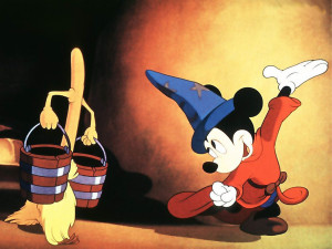 A scene from Disney's Fantasia (Photo: Disney)