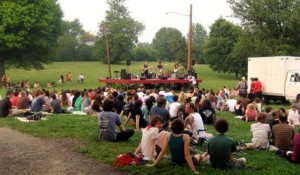 The Fort Reno concert series will go on Mondays and Thursdays in July. (Photo: WRC)