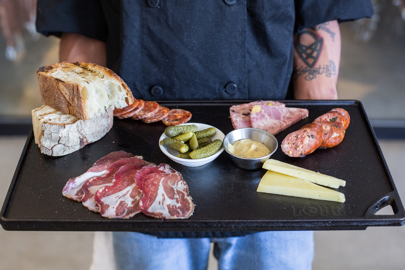 Daily happy hour at the Urban Butcher features  the happy hour meat cellar board for $15. (Photo: Po Chi Fung Photography)