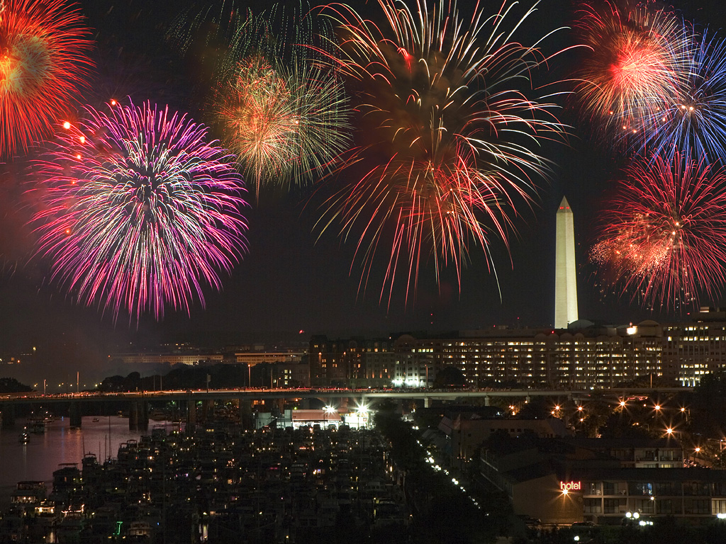 D.C., the place to be for July 4th (Photo: Getty Images)