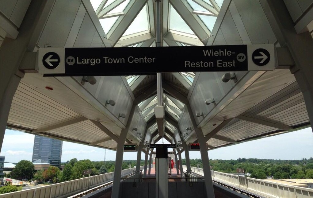 The new Metro Silver Line opens at noon on Saturday. (Photo: Marcel Acosta/Twitter)